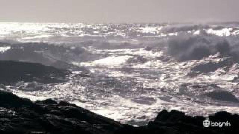 Шторм в океане видео ПРОСТО