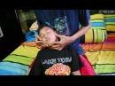 Relaxing brushstick head massage - ASMR