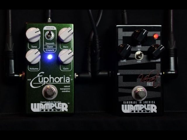 WAMPLER EUPHORIA Overdrive and VELVET Fuzz : Demo Review : 3P3D2013-DAY16 ~ 30 Pedals 30 Days