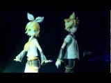 Рин и Лен Кагамине - Бабочка на правом плече (японский)