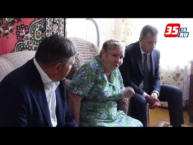Олег Кувшинников встретился с родителями, Героя России, Сергея Преминина