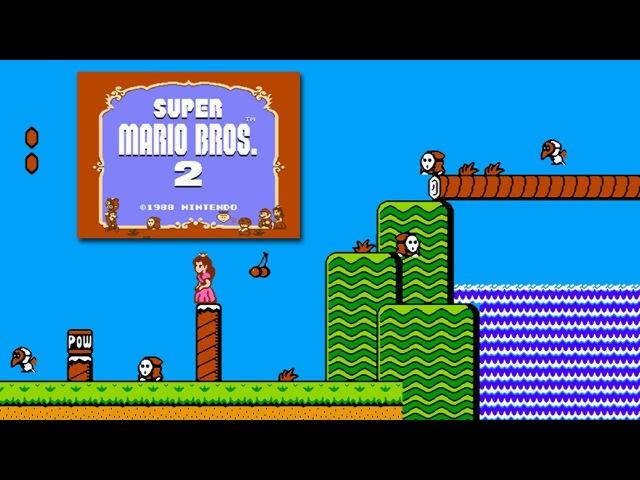 Super Mario Bros 2 Денди - Прохождение (Супер Братья Марио 2 Dendy, NES - Walkthrough)