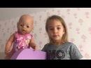 БЕБИ БОРН НАПАЛ НА ЭВЕЛИНУ Игры для Детей BAD BABY BORN Видео для Детей Беби Борн Куклы