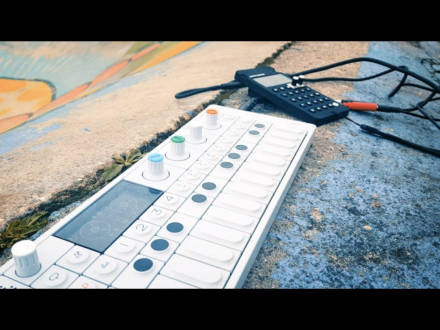 PO-32 Tonic OP-1 in the park