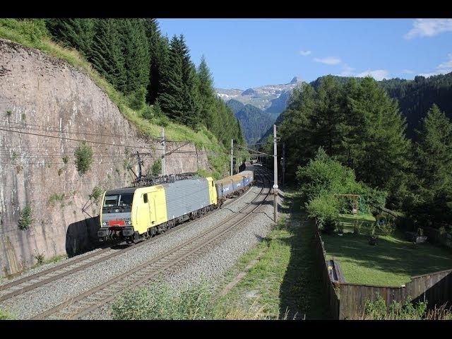 Bahnverkehr am Brenner - In der Steigung
