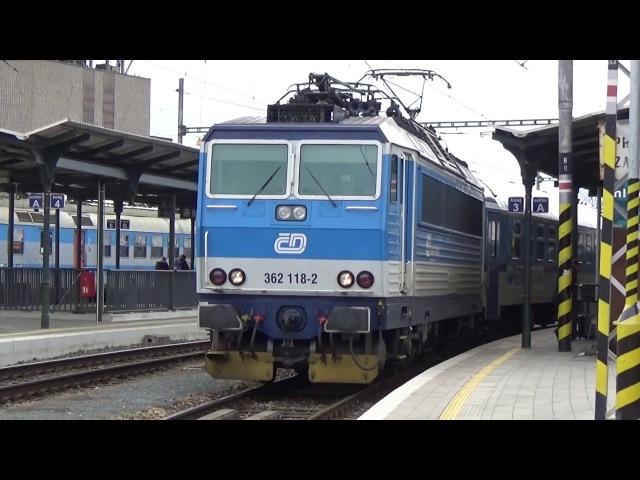 Eso na EC 278 Metropolitan - odjezd Brno hl.n. 9.3.2018