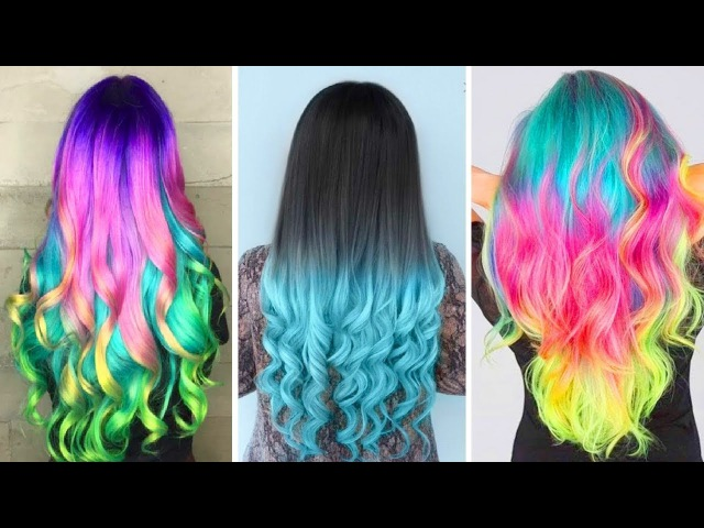 25 Easy Hairstyles Compilation 2017: Haircut, Hair Hacks and Hair Color Transformations