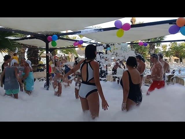 Hôtel Marhaba Resort, Sousse, Tunisie russia foam party
