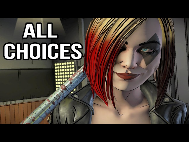 Batman Telltale Season 2 Episode 2 - All Choices/ Alternative Choices and Endings