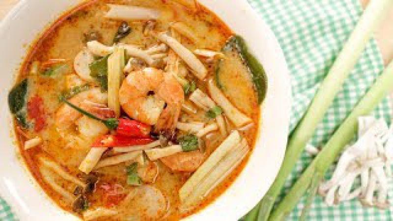 Tom Yum Goong Recipe 2.0 (Creamy Style!) ต้มยำกุ้งนำ้ข้น - Hot Thai Kitchen