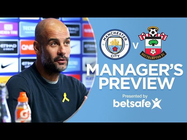 THE GUY WHO WINS, SMELLS GOOD   Man City v Southampton   Press Conference