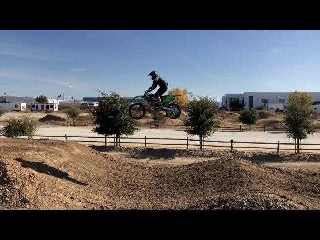 Josh Hill SX practice and transfers at Elsinore