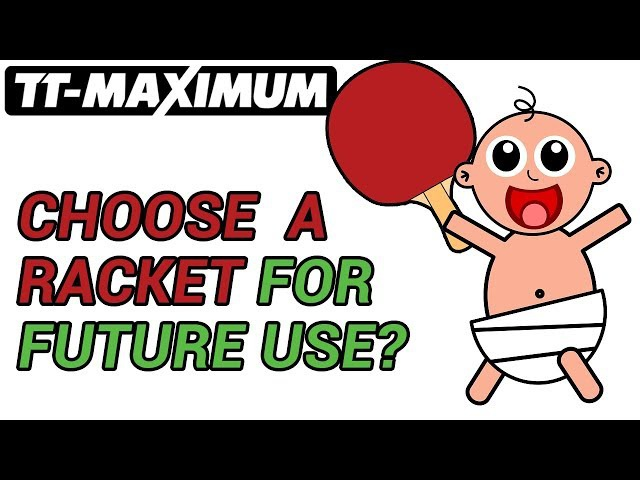 How to choose table tennis racket blade or rubber for future use ENG SUB как выбрать на вырост