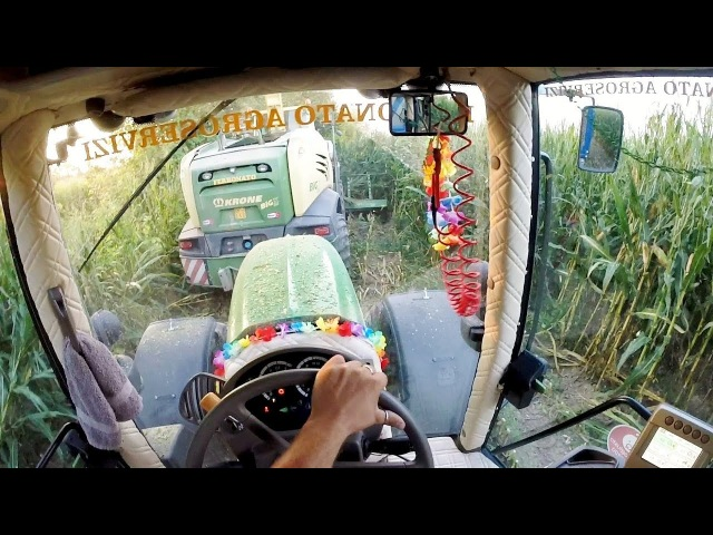 Cab View | SPECIAL CUSTOM John Deere 7530 P Krone Big X 580 | Mais Silage