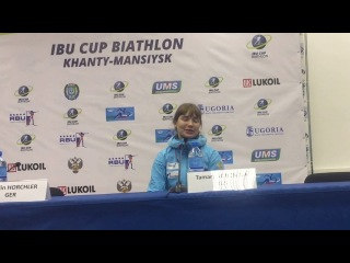Тамара Воронина после суперспринта (14.03.2018)