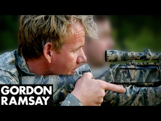 Hunting Butchering and Cooking Wild Boar Gordon Ramsay