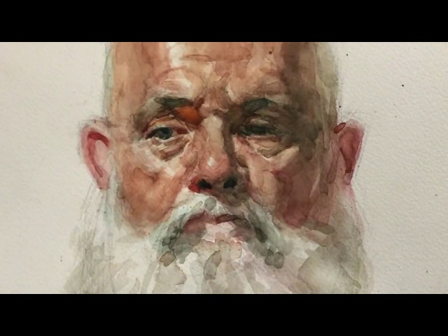 Портрет акварелью с натуры