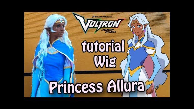 |LIMM|Voltron: Legendary Defender. Tutorial Wig Princess Allura