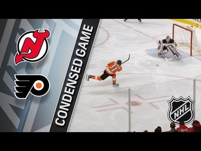 New Jersey Devils vs Philadelphia Flyers January 20, 2018 HIGHLIGHTS HD