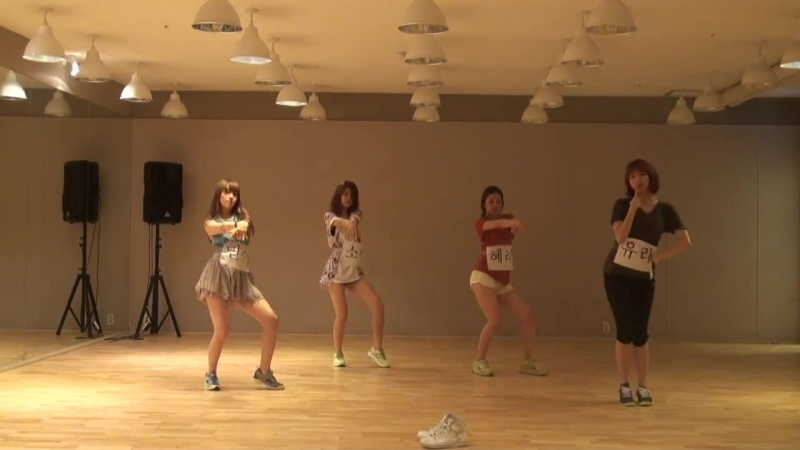 [VK] Girl's Day - Hug me once Dance practice 2