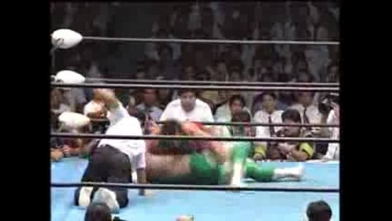11. Misawa vs. Williams