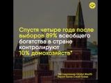 Пока Путин не начал обещать нам очередное светлое будущее, вспоминаем, что он говорил перед предыдущими выборами