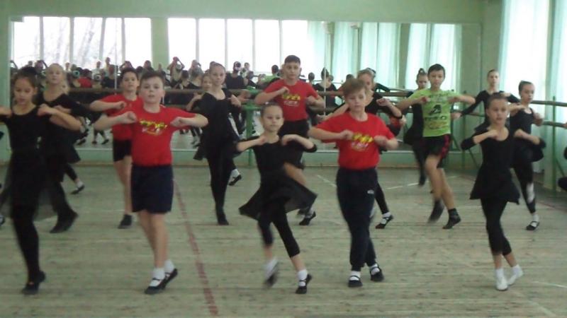 Открытый урок 23.12.2017г. Еврейский танец