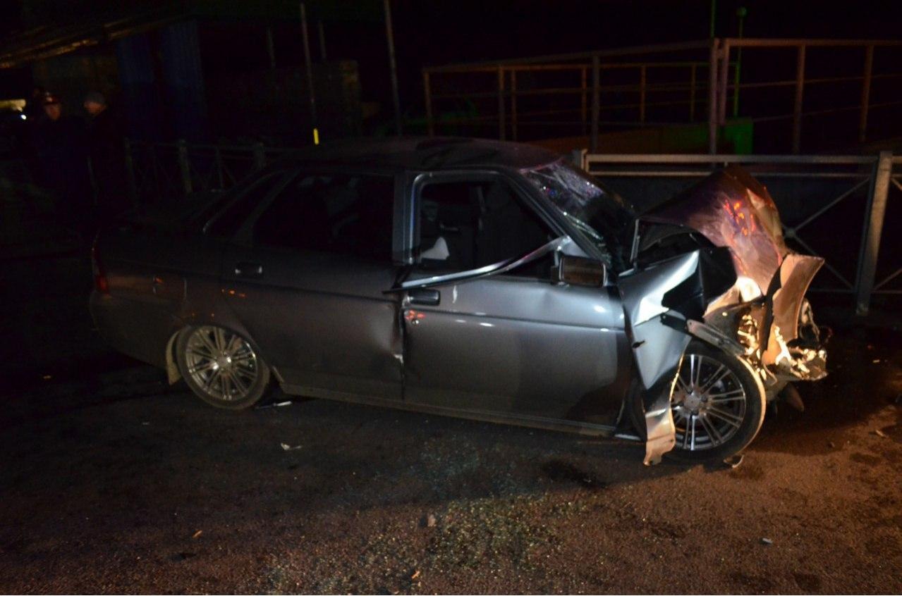 В Кардоникской разбились два автомобиля