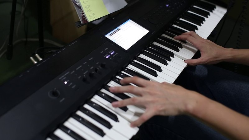 Korg Krome Combination Demo (The Best of Korg)