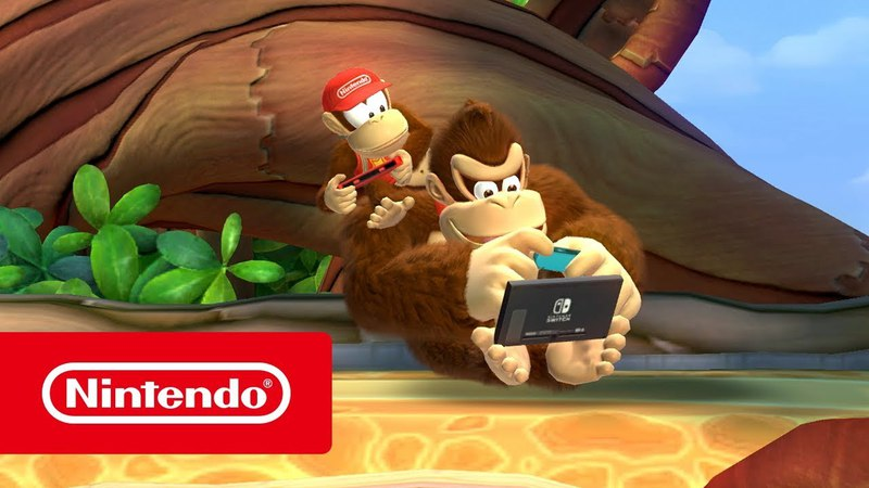 Donkey Kong Country: Tropical Freeze — обзорный трейлер (Nintendo Switch)