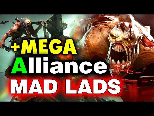 ALLIANCE vs MAD LADS - 92 Min MEGAS - GESC Thailand Minor DOTA 2