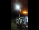 Странные огни в небе Оканье в Сантандер Колумбия, вызвали панику среди населения.....