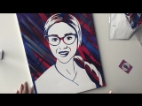 Flip Art - Портрет в подарок!