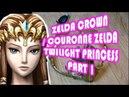 PRINCESS ZELDA COSPLAY crown part 1/réaliser la couronne de zelda twilight princesse cosplay DIY