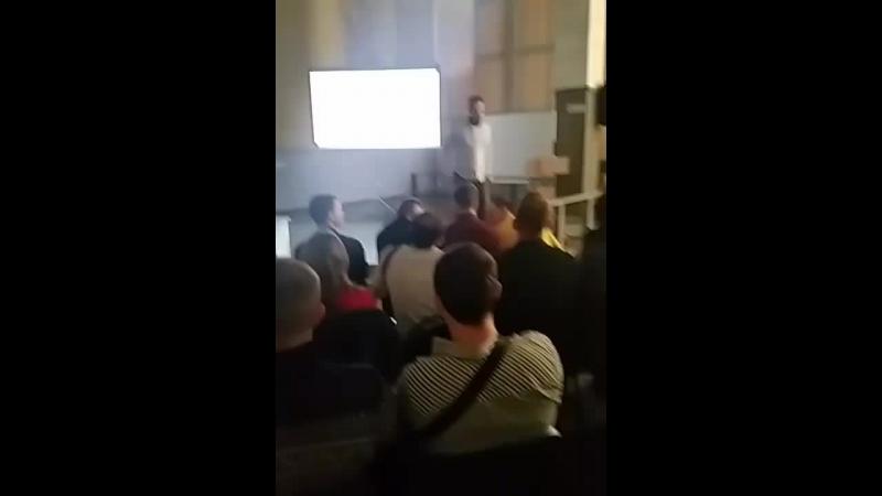 Конференция от команды Аяза Шабутдинова! Он создал Like холдинг. Старый Оскол, ЦМИ, 21.02.2018г