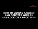 Fabio Da Mata - How To Defend A Sweep And Counter With An Arm Lock Or A Back Take