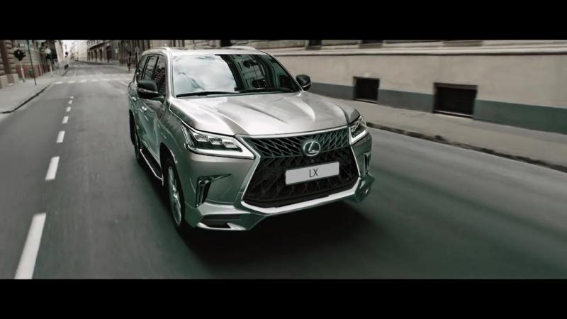 Lexus LX. Новая версия Superior