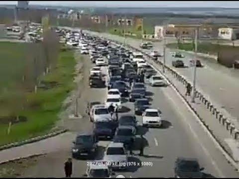 СОТНИ BMW В ЦЕНТРЕ ГОРОДА АВТОПРОБЕГ В ИНГУШЕТИИ