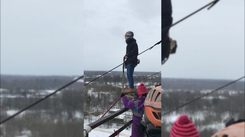 2018.03.09 Прыжок с пол-трубы 44 метра!