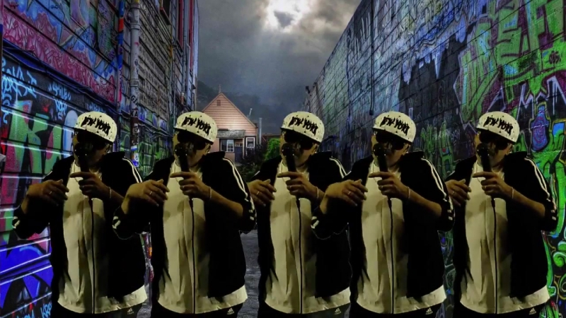 Rapper Acorn. Gangsters Paradise.(Cover)