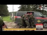 Бойцы десантно-штурмового батальона уничтожают «боевиков» под Калининградом