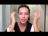 Adriana Lima Gets Ready for a Night Out _ Beauty Secrets _ Vogue