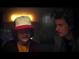 dustin henderson x steve harrington » ` strangers things vine