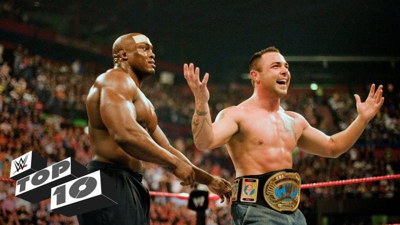 [WWE QTV]☆[Top 10]Surprising debuts from the crowd]неожиданные дебюты рестлеров из толпы зрителей]