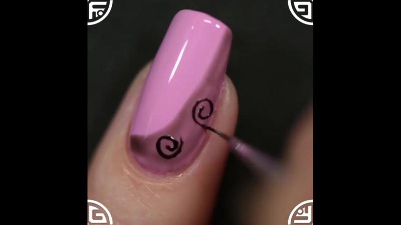 Рисунки на ногтях ✨