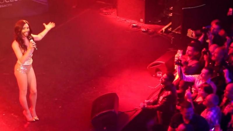 Live aus Kopenhagen Conchita Wurst im Euroclub 04 05 2014