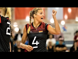 Top 10 Fantastic Volleyball Spikes by Maren FROMM (Brinker). EUROVOLLEY 2017.