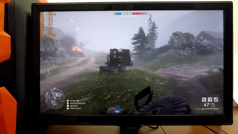Ryzen 7 1700 GTX 1060 6GB 16GB RAM (BF1 FPS TEST 1080p) ZEVS PC13500