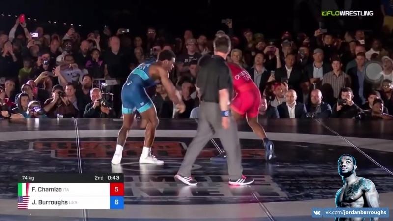 BeatTheStreets: Jordan Buroughs (USA) vs. Frank Chamizo (ITA)