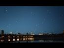День защиты детей. Запуск небесных фонариков. Донецк. Парк Щербакова. Видео ускоренное в 10 раз. Timelapse